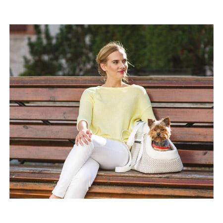 Borsa di lusso per Cani piccoli Modern Bianca  borsa da passeggio ... f8f54530b2a