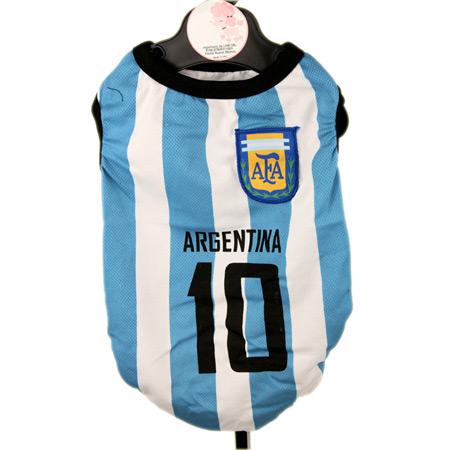 Maglietta Calcio Argentina per Cani