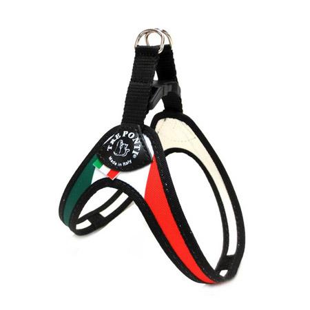Pettorina per Cani con Bandiera Italia con Chiusura a Clip