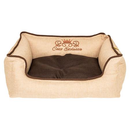 Cuccia Sfoderabile per Cani Piccoli e Medi Exclusive Beige