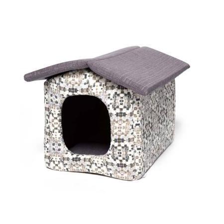 Cuccia Chiusa a forma di Casetta per Cani Piccoli