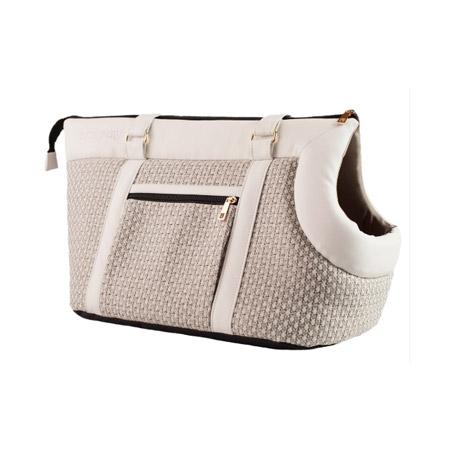 bc887098e9 Borsa di lusso per Cani piccoli Modern Bianca: borsa da passeggio ...