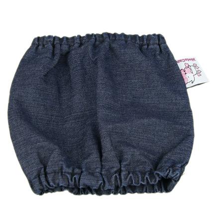 Paraorecchie per Cane in Cotone Jeans