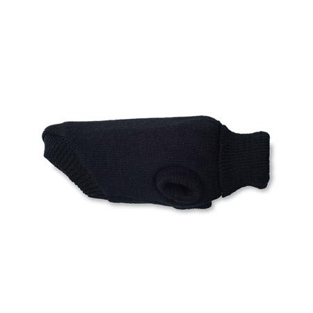 Maglione per Cane Nero a collo alto