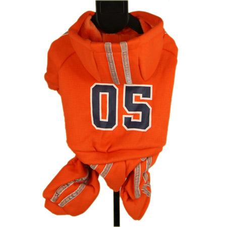 Tuta Sportiva 05 Arancione per Cane Piccolo