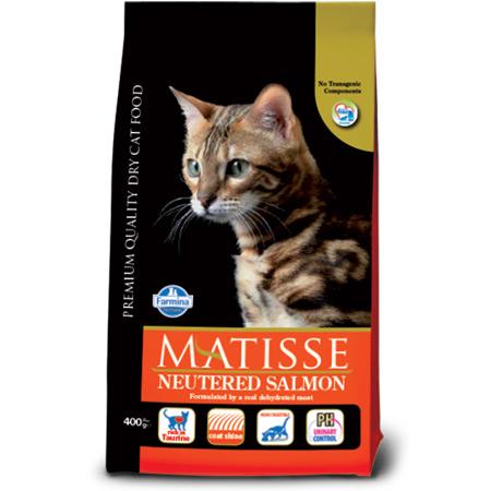 Croccantini Matisse al Salmone per Gatto Sterilizzato