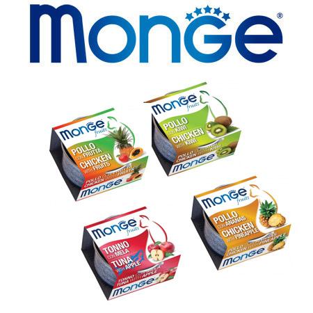 Scatolette Monge Fruits per Gatto in confezione da 80gr.