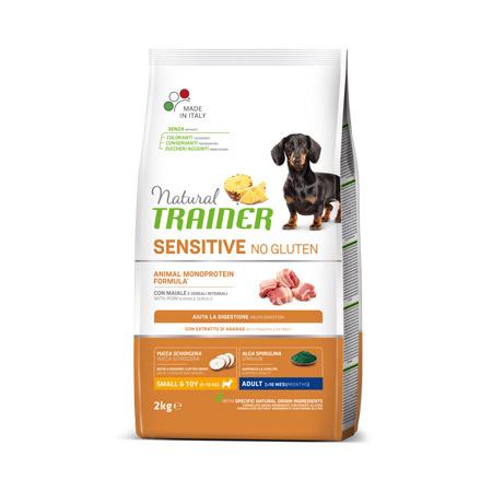 Croccantini Trainer Cani Mini Adult Sensitive Maiale No Gluten