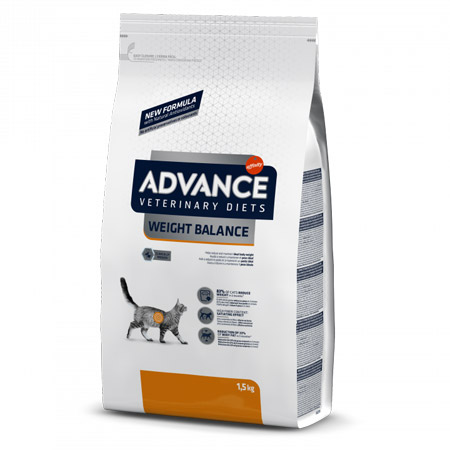 Croccantini Dietetici Advance Weight Balance per Gatto