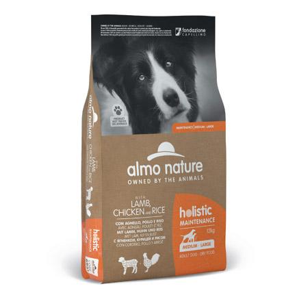 Croccantini Almo Nature Holistic Maintenance per Cani al Pollo e Agnello