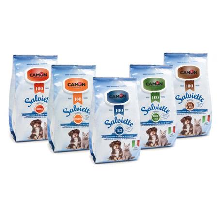 Salviette profumate per Cani pacco maxi convenienza da 100 pezzi