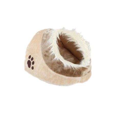 Cuccia Nido Beige per Cani Piccoli e Gatti