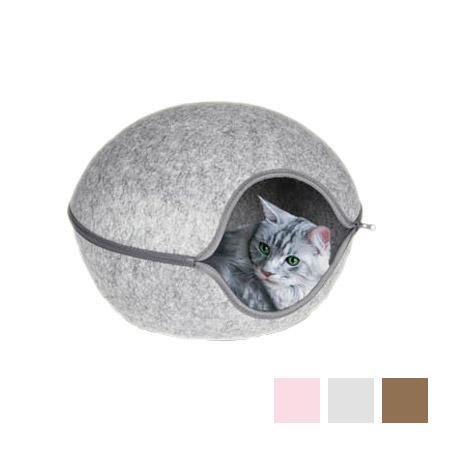 Cuccia in Feltro per Cani Piccoli e Gatti