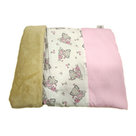 Sacco Nanna Butterflies Rosa per Cani Piccoli