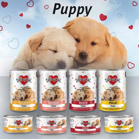 Scatolette Disugual Monoproteico per Cuccioli di Cane