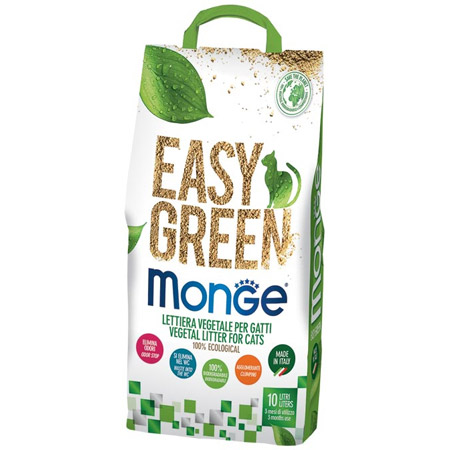 Lettiera Vegetale per Gatti Easy Green Monge