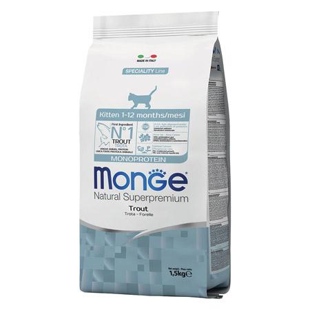 Croccantini Monge Gatto Kitten Monoproteici alla Trota