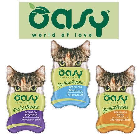 Patè per gatti Oasy Delicatesse