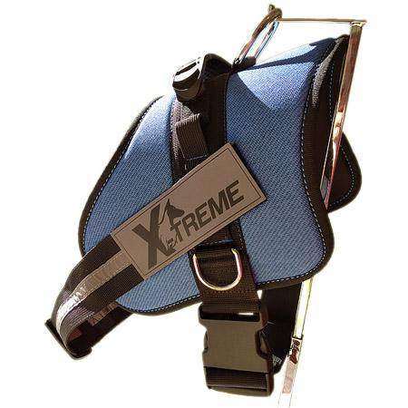 Pettorina Extreme Azzurra per Cani di taglia Media e Grande