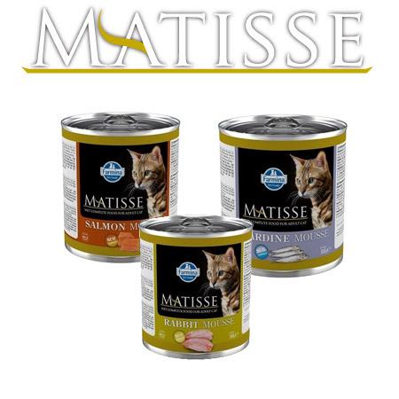 Mousse per Gatti Matisse in scatoletta da 300gr