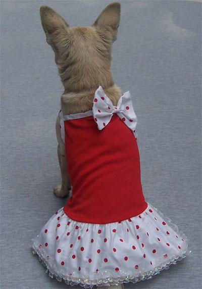 Vestitino Minnie Rosso