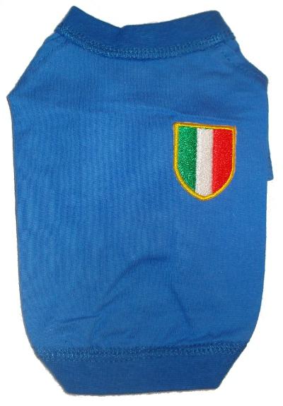Maglietta dell'Italia per cani
