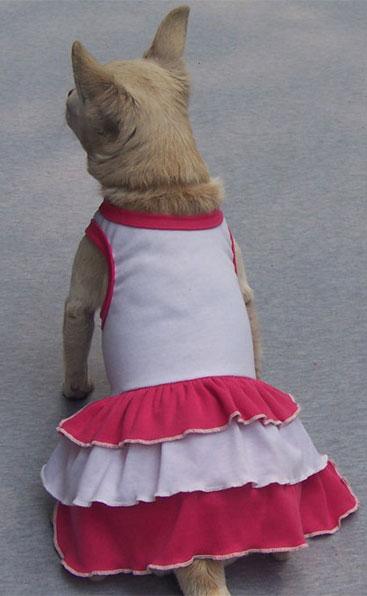 Vestito Ipanema Bianco e Rosa