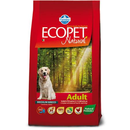 Croccantini Ecopet per Cani taglia Media e Grande al Pollo