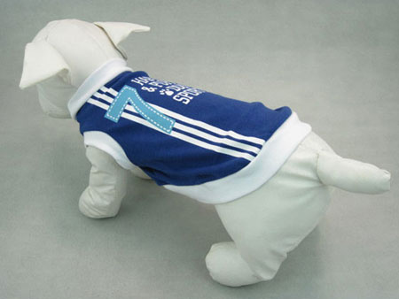 Maglietta Sportiva Blu 7