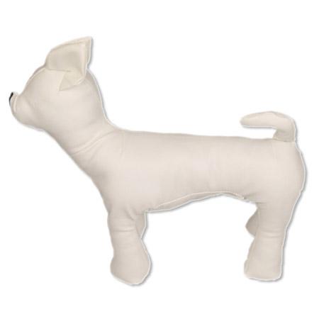 Manichino Bianco a forma di Cane