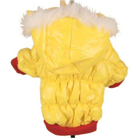 Cappotto invernale per cani Giallorosso