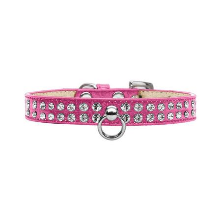 Collare Ice Cream Glitterato Rosa con Strass per Cani