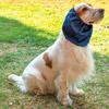 Paraorecchie Impermeabile Blu per Cocker e Cani con orecchie lunghe
