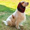 Paraorecchie Impermeabile Rosso per Cocker e Cani con orecchie lunghe