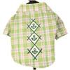 Camicia Verde per Cani California